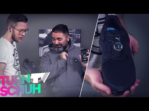 Puma AutoDisc Prototype   Turnschuh.tv Future