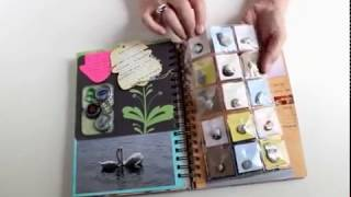 preview picture of video 'Handmade Travel Journal'