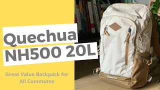 Quechua NH500 20L Backpack Review - An ideal daily commuter
