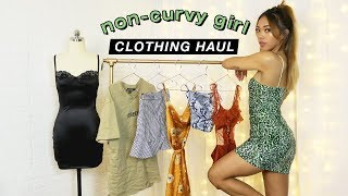 FIRST IMPRESSIONS HAUL: Clothes For Non-Curvy Girls and Small Boobs! | FASHION | Nava Rose