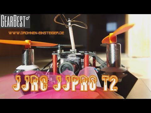 JJRC JJPRO T2 - Mini FPV Racing Quadrocopter [DEUTSCH]