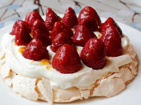 Pavlova – Fresh Strawberry Pavlova Recipe – Easter Dessert Special