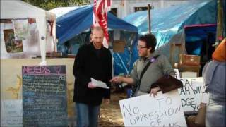The DC Occupy Movements march in Solidarity with Egypt [Nov 19, 2011]
