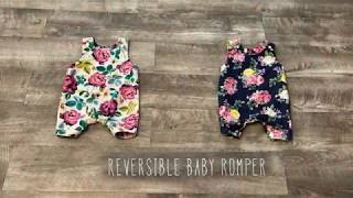 DIY REVERSIBLE BABY ROMPER - Sewing A Cute Baby Outfit // 𝐓𝐡𝐢𝐬 𝐅𝐚𝐢𝐭𝐡𝐟𝐮𝐥 𝐇𝐨𝐦𝐞