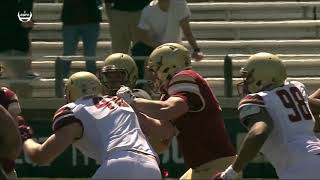 Football: Spring Game Highlights (April 6, 2019)