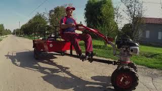 Роторная косарка DK-552 (Сенокосилка) от компании Инструментик - видео