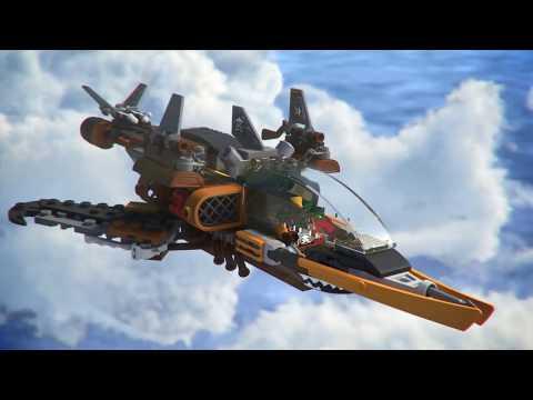 Конструктор Небесная акула - LEGO NINJAGO - фото № 7