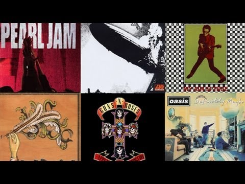 Top 10 Greatest Debut Rock Albums