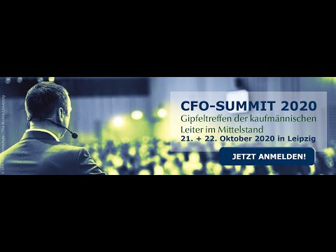 SAVE THE DATE! CFO-Summit 2020