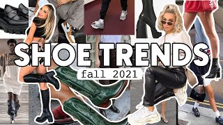 2021 FALL SHOE TRENDS AND HOW TO STYLE | Sneakers, Boots, Loafers, More!
