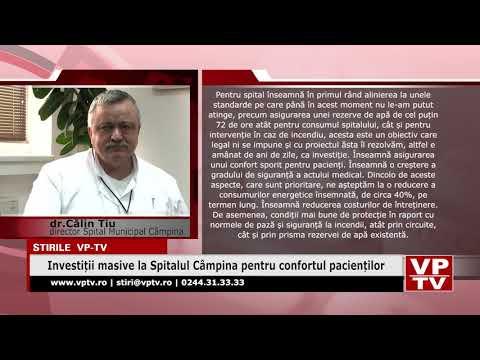 Investiții masive la Spitalul Câmpina pentru confortul pacienților