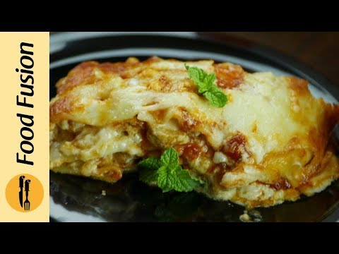 How to make Simple and easy Lasagna Recipe By Food Fusion