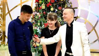 preview picture of video 'Кара Балта 2019 Новогодний корпоратив ресторан Салтанат'
