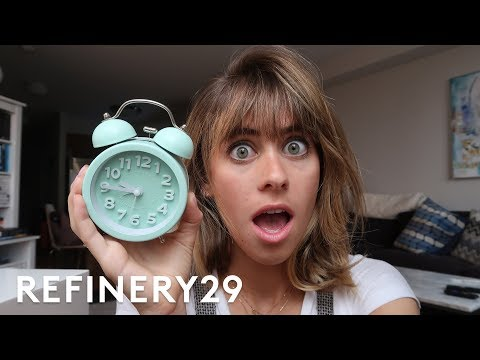 5 Days Of Becoming A Morning Person | Try Living With Lucie | Refinery29