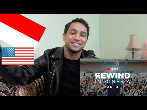 American Reacts To Youtube Rewind INDONESIA 2018 - Rise