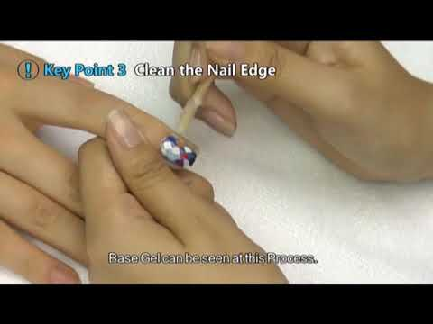 nail art process step by step
