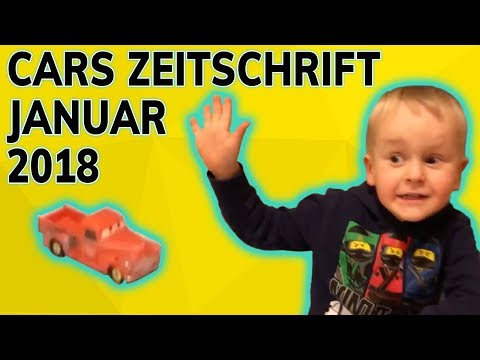 Cars Zeitschrift 🚗 Januar 2018 📰 Spielzeugtester Julian