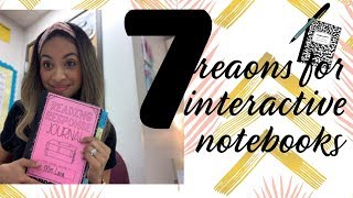 7 Reasons For Interactive Notebooks| How I Use Notebooks In My Classroom