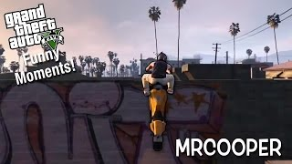 This Game is Glitchy AF! (GTA V Funny Moments)