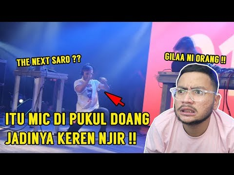 AJIGILEE !! THE NEXT SARO NIH ?? CALON CALON JUARA BEATBOX LOOP DUNIA NJIR !! - SansReaction