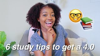 6 Study Tips You Need To Know For College !!!