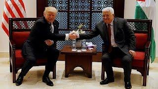 Trump incontra Abbas a Betlemme: