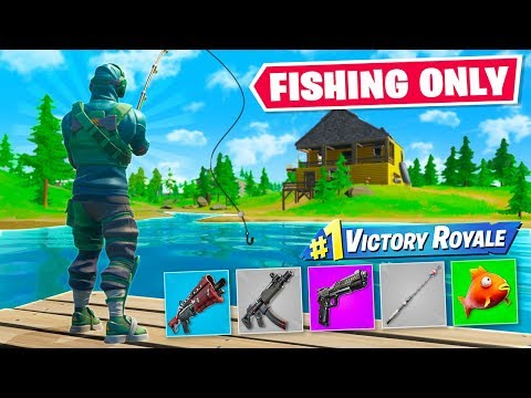 WINNING with *ONLY* FISHING LOOT Challenge!