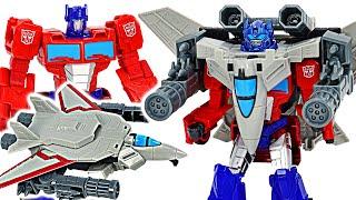 Transformers Optimus Prime Power of the Spark Armor Sky Turbine mounted! | DuDuPopTOY