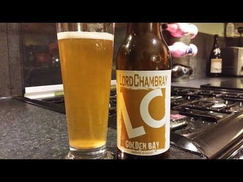Lord Chambray Golden Bay Blonde Ale