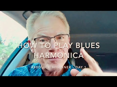 How To Play Blues Harmonica – Absolute Beginner | Day 1