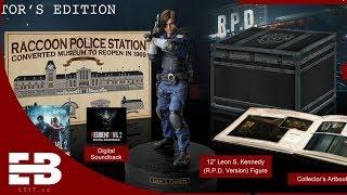 Resident Evil 2 remake collector