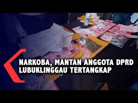 Narkoba, Mantan Anggota DPRD Lubuklinggau Tertangkap