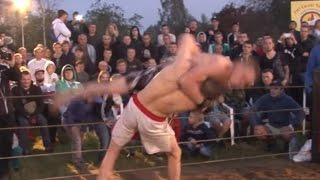 Black Crow vs Mad Max, Russian Street Fight Championship