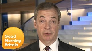 Nigel Farage Calls on Theresa May to Resign Amid Brexit Defeat | Good Morning Britain