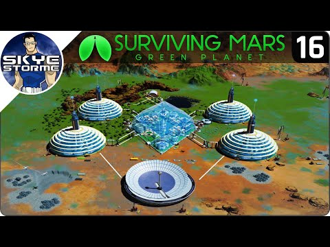 18,000+ RESEARCH PER DAY! - Surviving Mars Green Planet EP 16 - Gameplay & Tips
