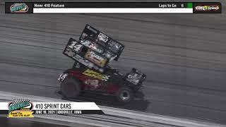 Knoxville Raceway 410 Highlights - June 19, 2021