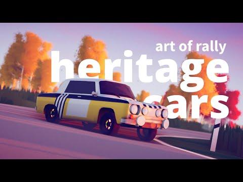 art of rally - Heritage Cars de Art of Rally