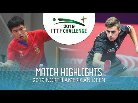 Xiang Peng vs Darko Jorgic | 2019 ITTF North American Open Highlights (1/2)