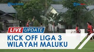 Kick Off Liga 3 Maluku Sempat Terhalang Hujan Deras, Lapangan Kompi A Waiheru Tergenang Air