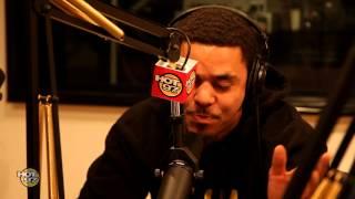 J.Cole Freestyles on FunkMaster Flex PT2