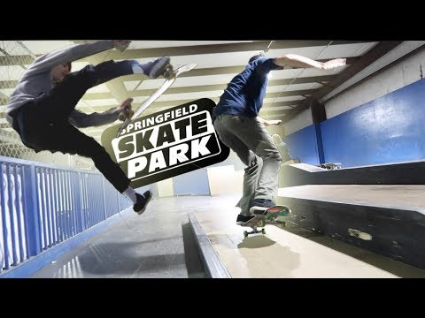 Welcome to the SPRINGFIELD SKATE PARK!!!