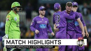 Hobart leap above Thunder afer big Blundstone win | KFC BBL|09