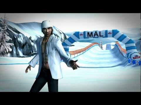 Video of Mr. Melk Winter Games