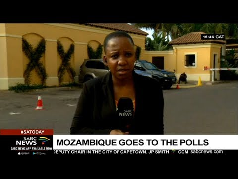 The mood in Mozambique ahead of Tuesday's polls: Siphephile Kunene