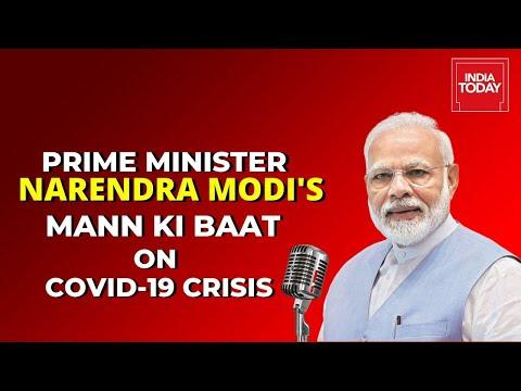 PM Modi's 'Mann Ki Baat' Address Over India's Fight Against Coronavirus Crisis