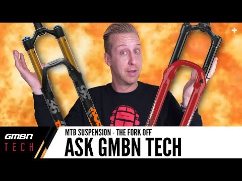 Mountain Bike Suspension - The Fork Off | Ask GMBN Tech