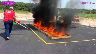 Video bình chữa cháy dạng ném Nhật Bản NINJA Safe 650ml - 3