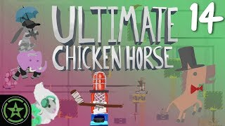 I'VE DIED TO MY OWN CONTRAPTION! - Ultimate Chicken Horse (#14) | Let's Play