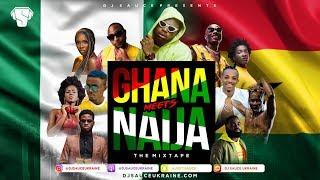 GHANA MEETS NAIJA 2018 AFROBEATS MIX – DJ SAUCE UKRAINE.