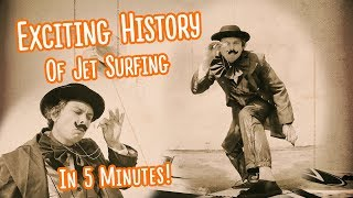 Amazing HISTORY Of Motorized Surfboards in 5 minutes: How did it all begin?